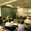 小沢武先生の講義に聞き入る受講生