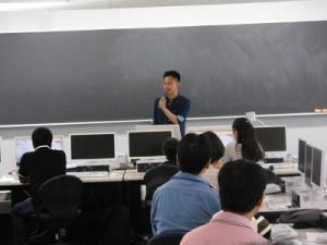 親子でプログラミング 松下孝太郎教授