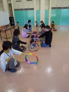 四街道公民館主催講座2、3歳児ひよこ教室